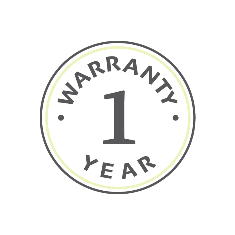 1 Year Full Warranty Parts